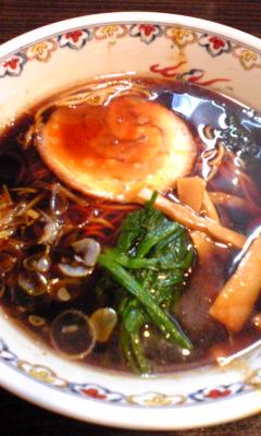 盛岡醤油老麺