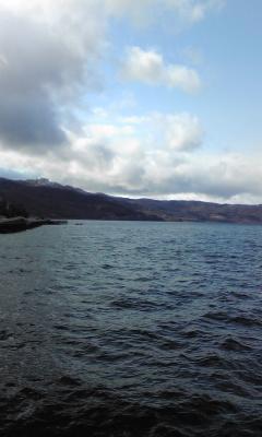 洞爺湖なのだ