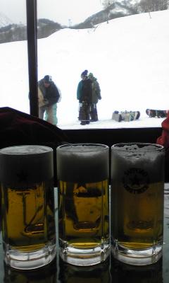 春スキーはやっぱり
