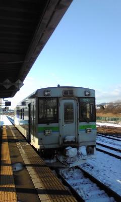 列車キター!
