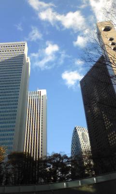 西新宿なう