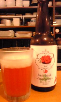 トマトのビール♪