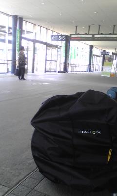 函館駅なう