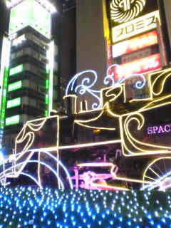 新橋駅前なう