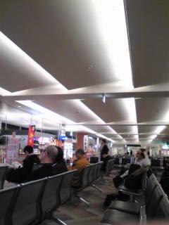 函館空港なう