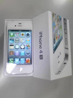 iPhone 4Sげっと♪